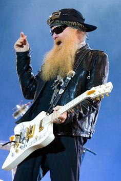 BILLY GIBBONS....  12/16/1949--.. William Frederick Gibbons.....from Houston Texas... .   .#32 in Rolling Stones greatest guitarests