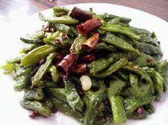 Green Beans Chilis Stir-fry Recipe
