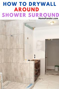 This article will help you to understand how to install drywall around a shower surround. You will need a list of tools, but the majority of them are usually found in every home. You can also understand how to drywall around a tub surround and tub edge. The process is very similar. #DIY #bathroom #shower #bathtub #cleanbathroom #householdtips #organize. Bathroom Cleaning Hacks, House Cleaning Tips, Deep Cleaning, Cleaning Supplies, Organizing Ideas, Home Organization, Simple House, Clean House, Drywall Installation