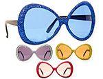 Glamour Glitter Glasses Assorted