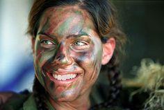 Aujourd´hui Valéry: Military Woman Photography