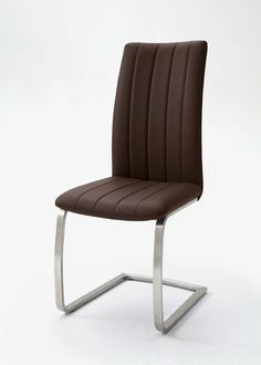 Schwingstuhl Viano 2er-Set Braun 20235. Buy now at https://www.moebel-wohnbar.de/schwingstuhl-viano-2er-set-braun-20235.html