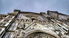 Duomo di Firenze col naso all'insù #natale2015
