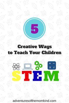 5 Creative Ways to #Teach Your Children #STEMSubjects.  #BoardGameforKids           #STEMEducation   #SquirrelBoardGame