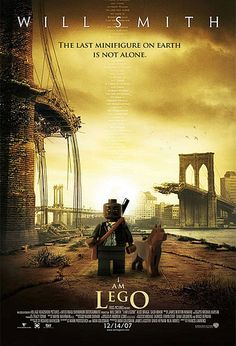 """Lego Movie Poster Bwahahahaha """"I Am Lego!"""" lol"""