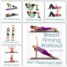 Breast firmness exercises