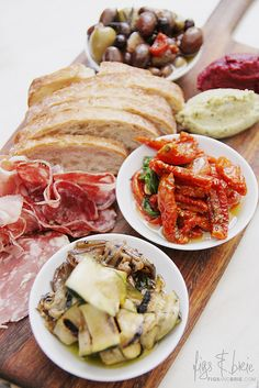 Antipasto Platter at The Village (Cheese Table Mesa De Quesos)