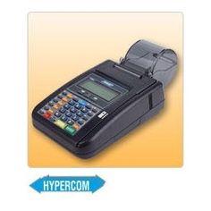 La maquina Hypercom T7 Plus está diseñada para los comerciantes que poseen unaterminal o punto de venta en un mostrador pequeño .
