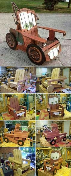 Tow Mater Chair I know someone who would like this.