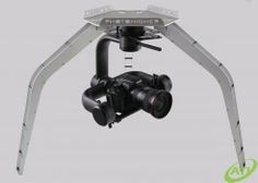 PhotoHigher's next generation camera gimbals have arrived! The Halo 2000 features advanced brushless motor technology and a chassis constructed of 100% carbon fiber, this three axes and stabilized gimbal is the new industry standard for flying your mirrorless DSLR.