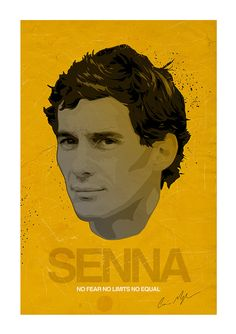 In recognition of the SENNA Movie I thought it would be fitting to do an Ayrton Senna piece. Im really pleased with how this one turned out. It is