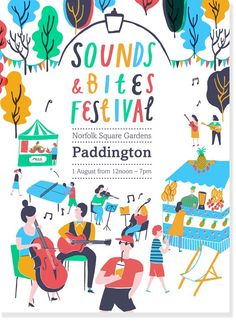 Sounds and Bites Festival was a one day food and music extravaganza, held in Norfolk Square Gardens, Paddington. Part of PaddingtonNow- Business Improvement ...: