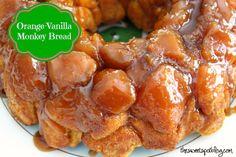 Orange-Vanilla Monkey Bread