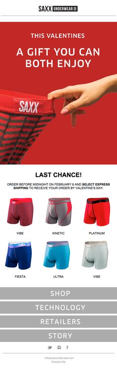 Hurry! Last Chance For Valentine's Day with Express Shipping