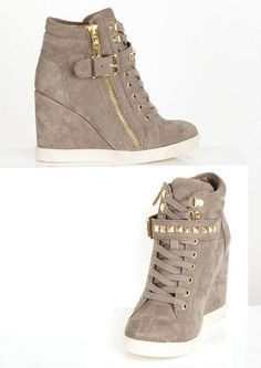 high heel wedge sneakers | ... sneaker platform high heels shoes ...