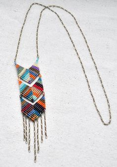 Chevron triple collier Multi par AMiRAjewelry sur Etsy, $86.00