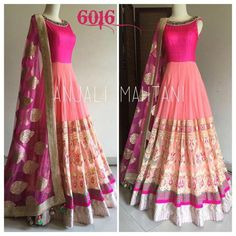 Shop Light Pink Gorgette N Net Lahenga Style Anarkali Salwar Suit by Miraclefashion online. Largest collection of Latest Anarkalis online. ✻ 100% Genuine Products ✻ Easy Returns ✻ Timely Delivery