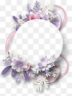 Circular frame decorativo flor de limão, A Circular Frame, Decoração De Flores., Moldura Decorativa De LimãoImagem PNG