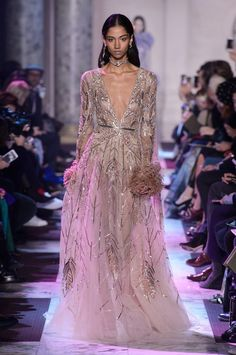 Pastel Pretty: Elie Saab - ELIE SAAB   SPRING 2018 HAUTE COUTURE COLLECTION                                                     Visit:  ArtPassionZsaZsaBellagio