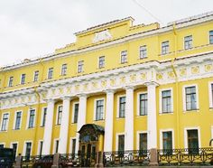 Yusupov Palace - St. Petersburg, Russia.  Site of Rasputin murder.