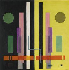 Rudolf Bauer  davidcharlesfoxexpressionism.com #rudolfbauer #expressionism #geometricart #abstract