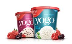Packaging for an yogurt base ice cream for Kibon, the top ice cream brand in… Yogurt Packaging, Dairy Packaging, Ice Cream Packaging, Food Packaging, Brand Packaging, Coffee Packaging, Packaging Ideas, Glace Fruit, Blue Bunny Ice Cream