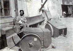 Boucliers roulants - juillet 1916