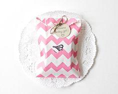 25 Custom Baby Girl Shower Favors Pink by HerbivoreBotanicals