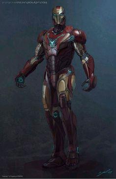 Iron Man by Sebastian Colombo