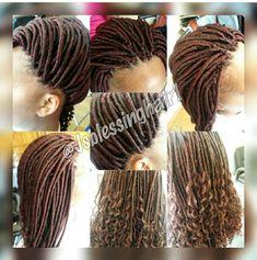 Faux Locs, Crochet Hair Styles, Hair Ideas, Dreadlocks, Beauty, Extensions, Dreads, Box Braids, Crochet Braids