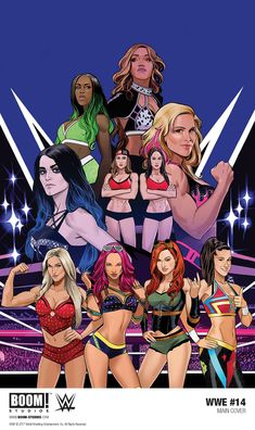 Women are dominating the WWE! Read how the Four Horsewomen made their debut in WWE Wrestling Stars, Wrestling Divas, Women's Wrestling, Dan Mora, Wwe Funny, Catch, Wwe Women's Division, Paige Wwe, Wwe Female Wrestlers