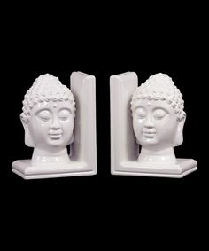 Another great find on #zulily! Buddha Bookends #zulilyfinds