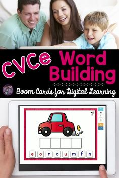 In need of fun cvce digital word work practice for your first grade students or second grade class? Check out these self checking digital task cards to practice spelling words with magic e or silent e spelling patterns! Just what you need for distance learning in 1st grade or 2nd grade! Teaching Vocabulary, Teaching Phonics, Cvce Words, Spelling Words, Word Work Games, Digital Word, Teaching Second Grade, Spelling Patterns, Common Core Ela