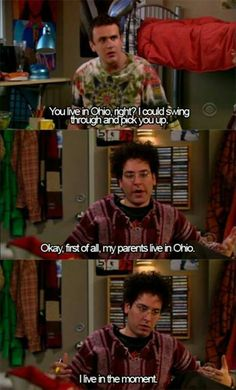 How I Met Your Mother. The best ka Ted. Haha