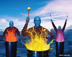 bucket list - see the amazing blue man group!  L is for LAS VEGAS: 34 things to do when you're not gambling