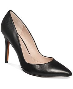 Charles by Charles David Pact Pumps leather black/white 4heel sz7.5 99.00 (69.99)