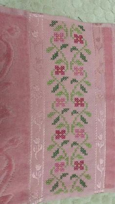 Cross Stitch Borders, Cross Stitch Flowers, Cross Stitch Charts, Cross Stitching, Cross Stitch Patterns, Embroidery Techniques, Embroidery Stitches, Embroidery Patterns, Hand Embroidery