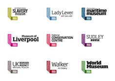 Best Pentagram Work National Museums Liverpool images on Designspiration Museum Identity, Museum Branding, City Branding, Business Branding, Logo Branding, Branding Design, Corporate Identity, Corporate Design, Brand Identity