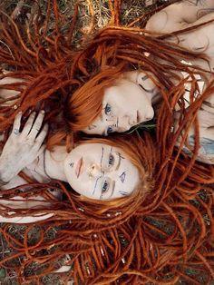 #dreads #dreadlocks #dreadgirls #hippie #rasta #ginger #vibes #summer #alternative