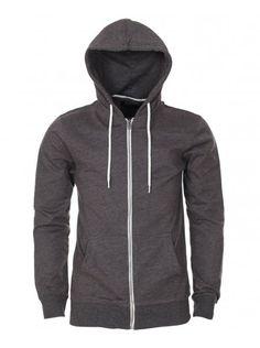Industrialize Casual Grey Zip Up Hoodie