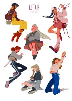 Miss this comic series so much Character Design Cartoon, Character Design References, Character Drawing, Character Design Inspiration, Character Illustration, Character Concept, Concept Art, Character Design Animation, Pretty Art