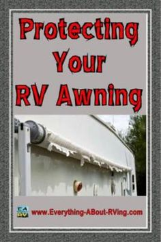Protecting Your RV Awning