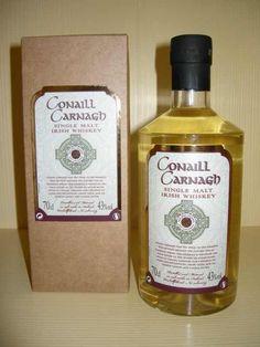 Conaill Carnagh Single Malt Irish Whiskey Irish Whiskey Brands, Single Malt Irish Whiskey, Scotch Whiskey, Bourbon Whiskey, Rum Bottle, Liquor Bottles, Whiskey In The Jar, Whiskey Cocktails, Distillery