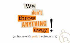 En el taller Petit h episodio n°1: We don't throw anything away! Siga petit h en 5 episodios.
