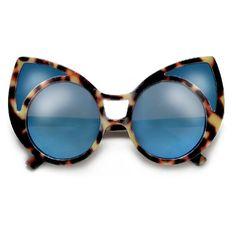 27ce7aa9027 Large Bold Distinctive Cat Eye Silhouette Fashion Sunglasses – Sunglass Spot  Fashion Silhouette