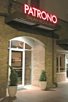 Where to Eat, Patrono Italian Restaurant - Sell a Metro Home
