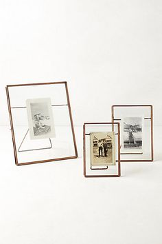 pressed glass photo frame anthropologiecom