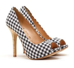 Love the checkerboard on these and they are SUPER comfy!
