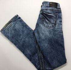 Ladies jeans size Overall very good used condition. They do have some minor wear and stains on the bottom of the legs. But very good jeans overall. Best Jeans, Silver Jeans, Jeans Size, Overalls, Legs, Pants, How To Wear, Ebay, Women