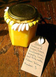 Oshun Orisha Candle  Honey Pumpkin and Cinnamon